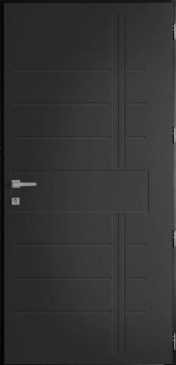 Porte d'entrée Batz, gamme non vitrées