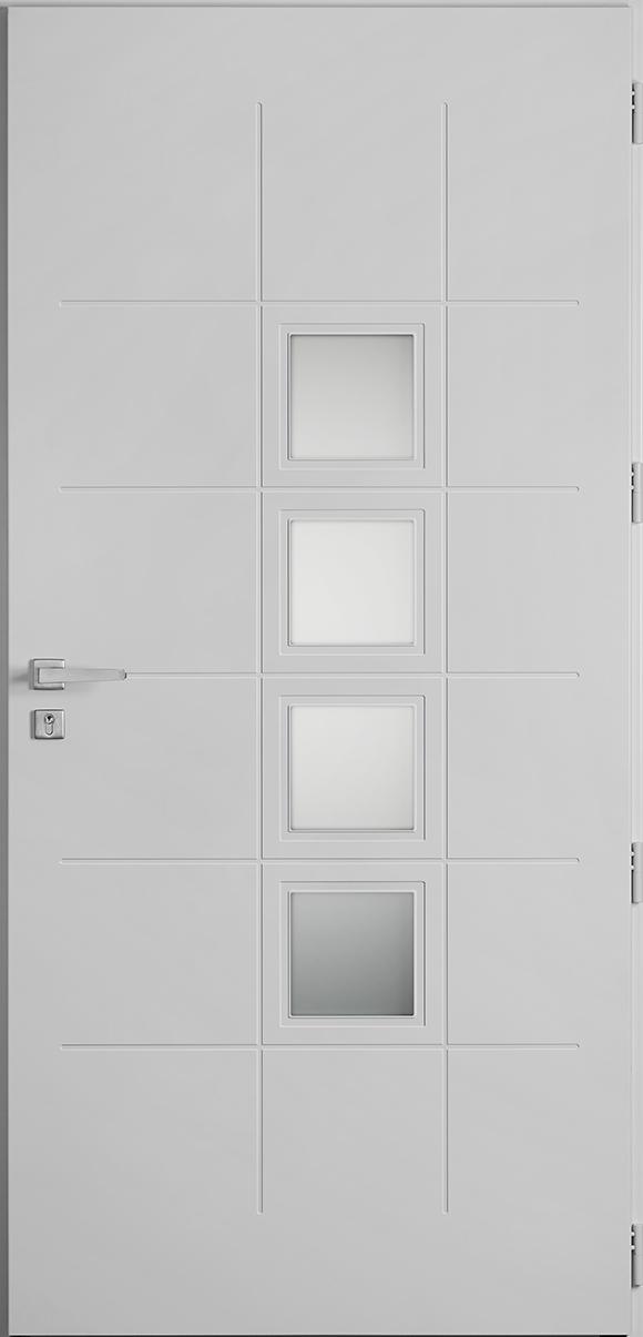 Porte d'entrée Binic, gamme vitrées
