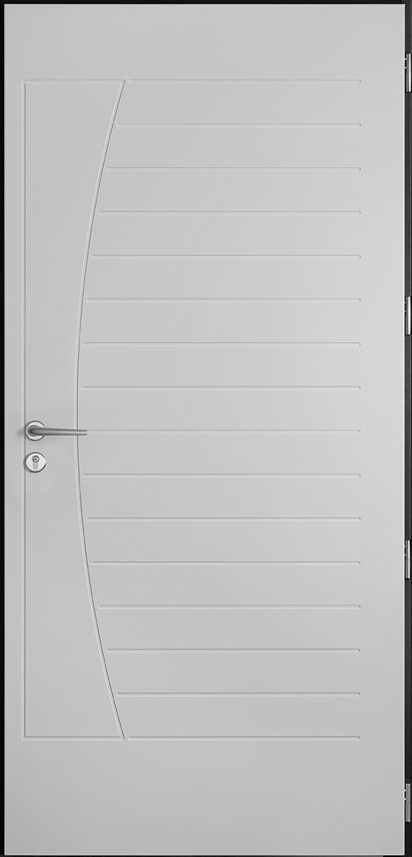 Porte d'entrée Briac, gamme non vitrées
