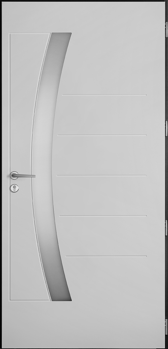 Porte d'entrée Carnac, gamme vitrées