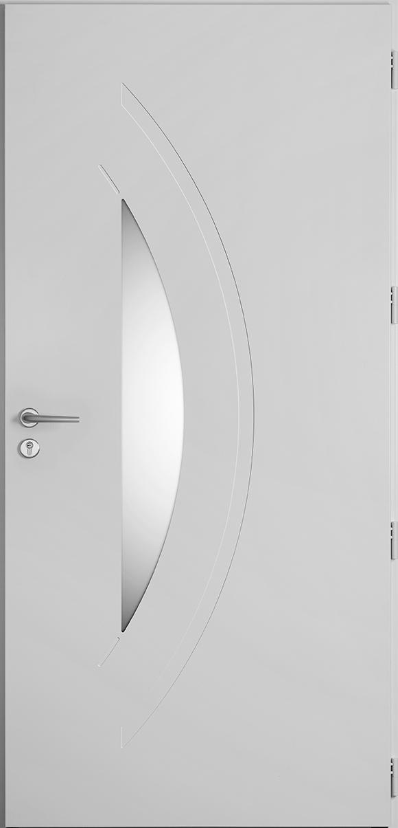Porte d'entrée Crozon, gamme vitrées