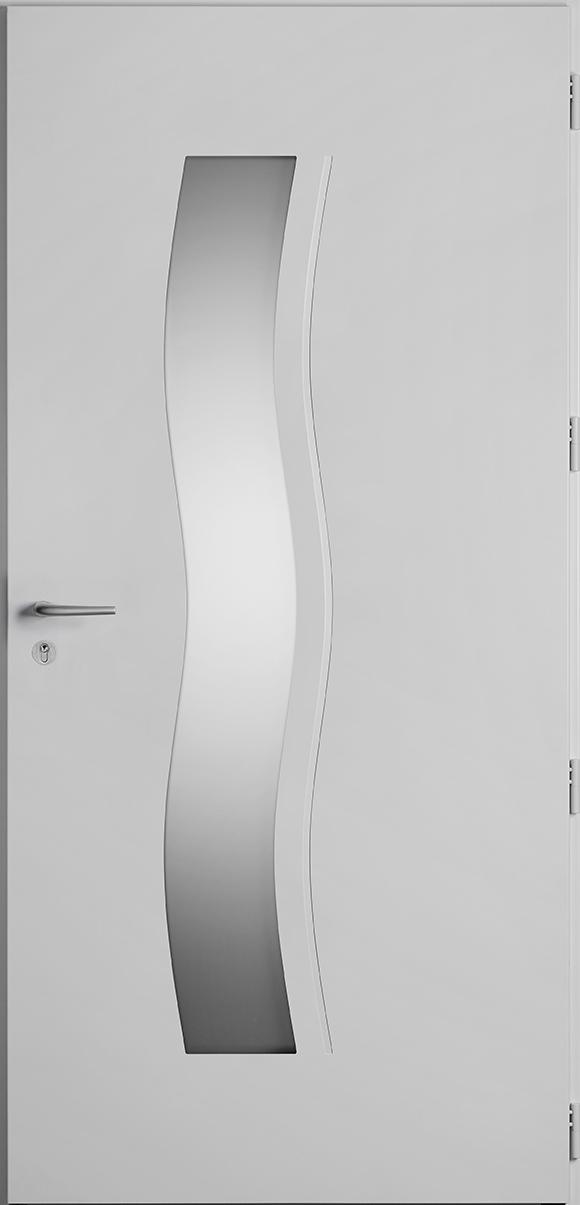 Porte d'entrée Hirel, gamme vitrées