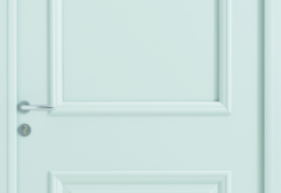 Porte d'entrée blanc astree