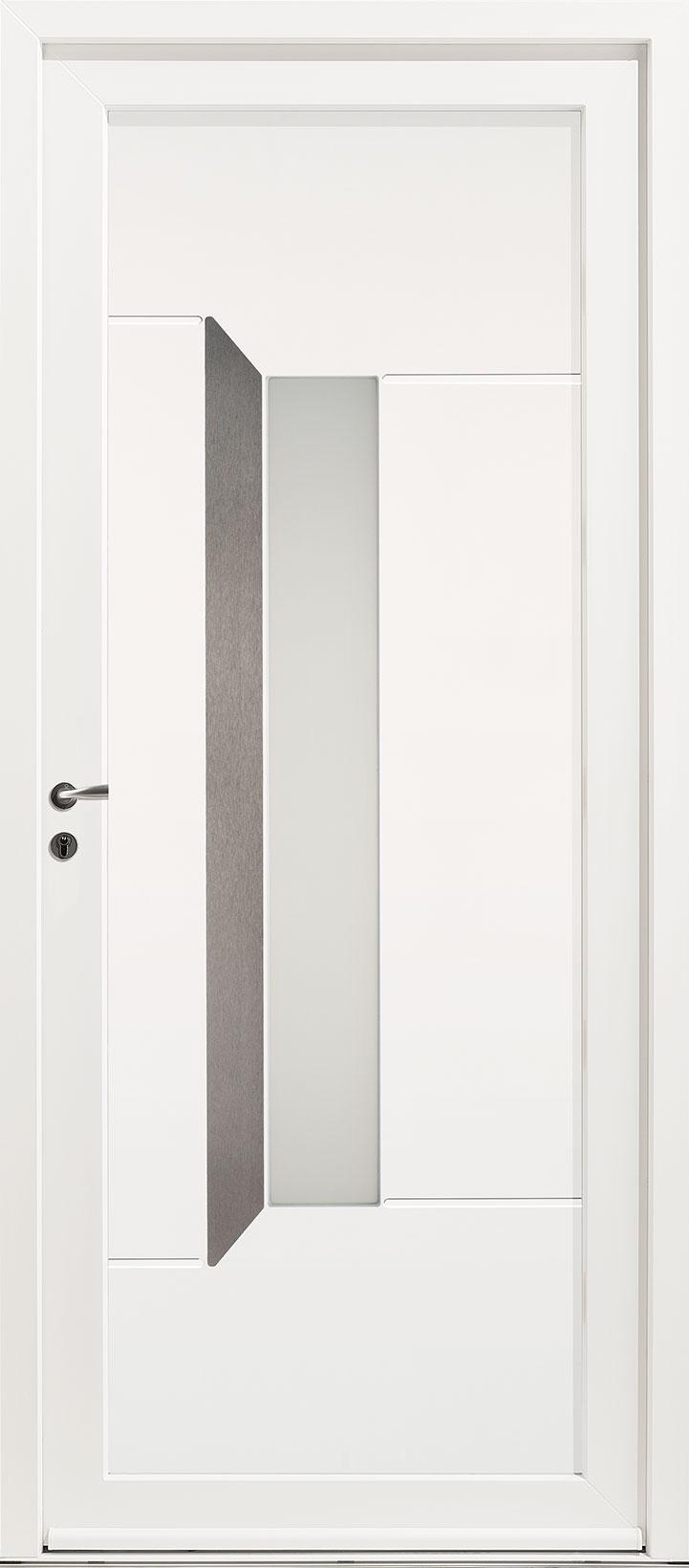 Porte d'entrée PVC Kellys 6