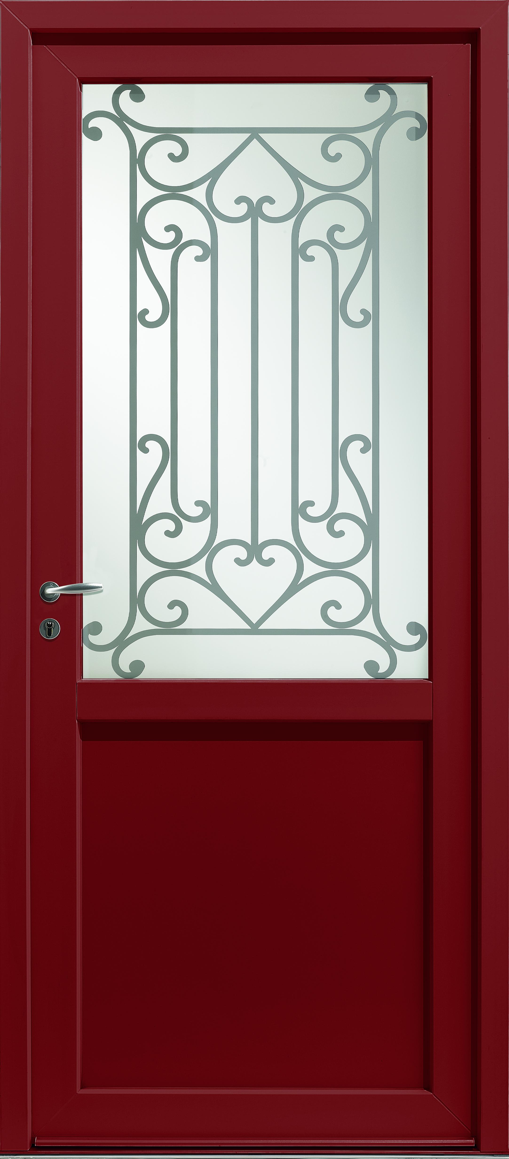 Porte d'entrée PVC Vega 2