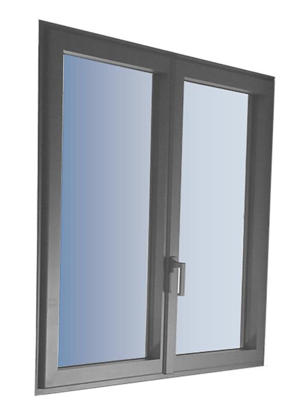 Fenêtre à frappe gost