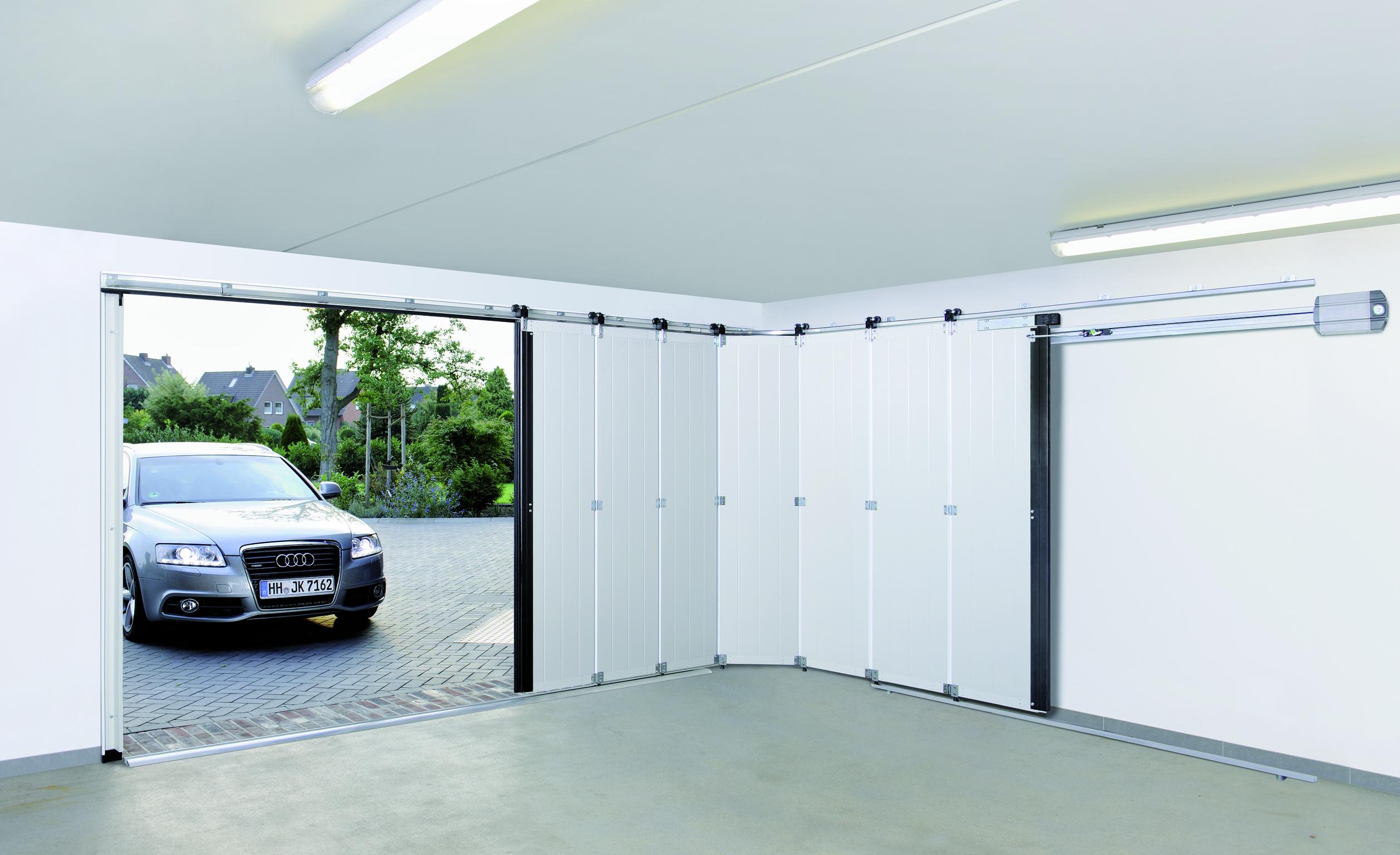 Porte de garage latérale manuelle