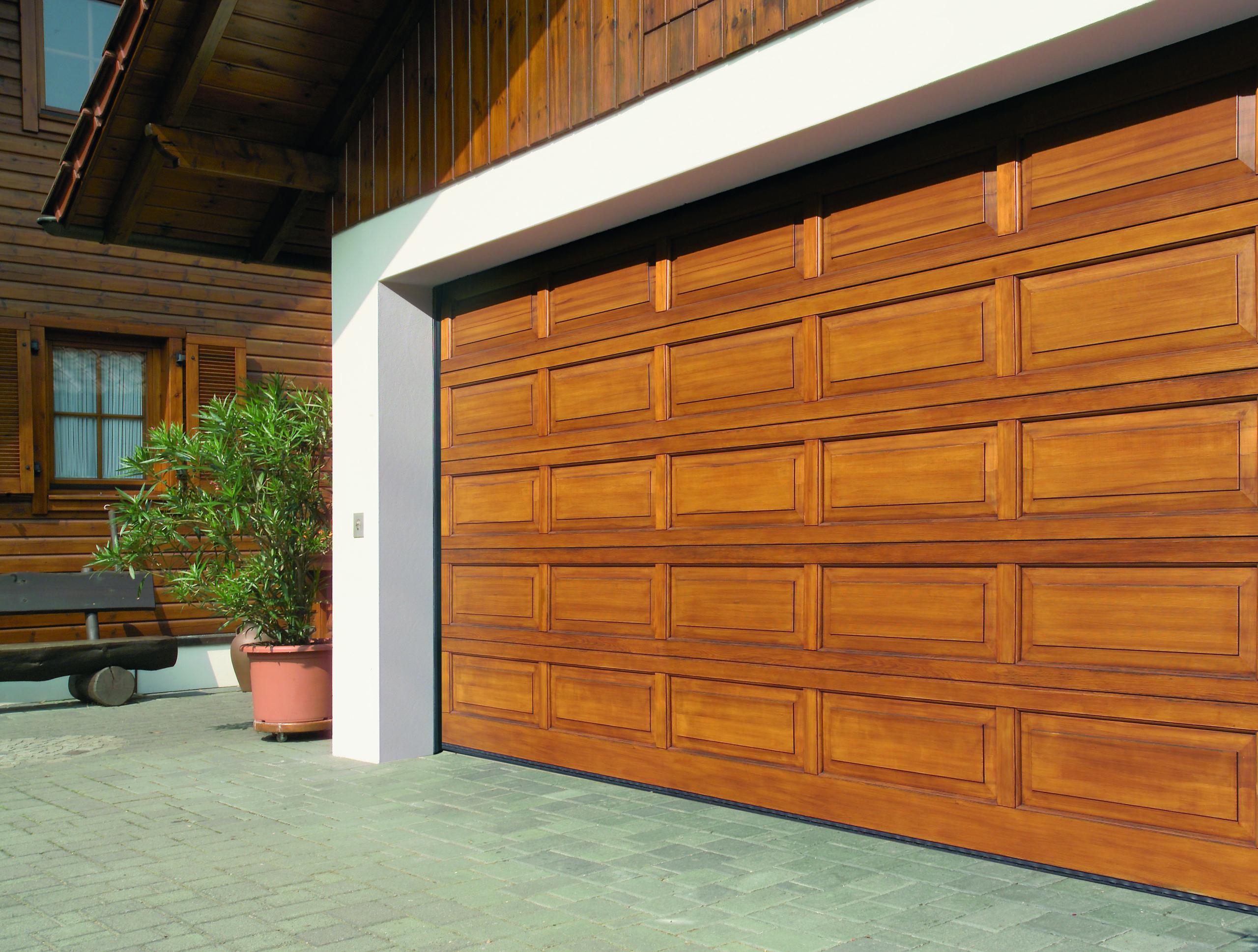 Porte de garage LTH 42 manuelle