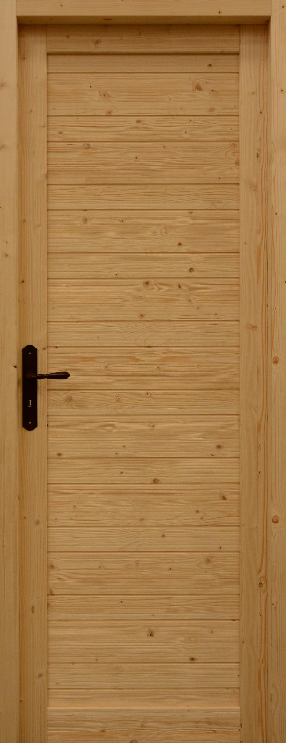 Porte d'intérieur Chalet