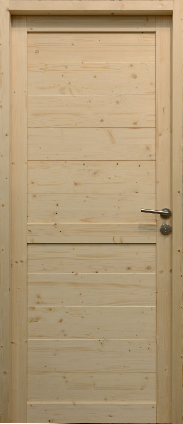 Porte d'intérieur en bois