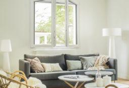 Fenêtre en pvc blanche