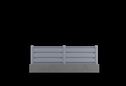 Clôture grise